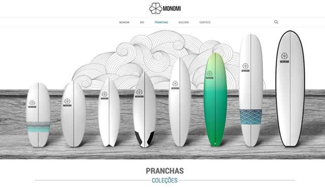Monomi - Pranchas